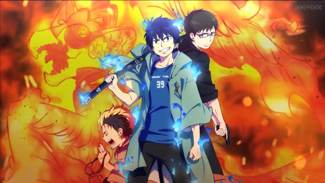 Pin by Eleazar Rama on Ao no Exorcist Blue exorcist