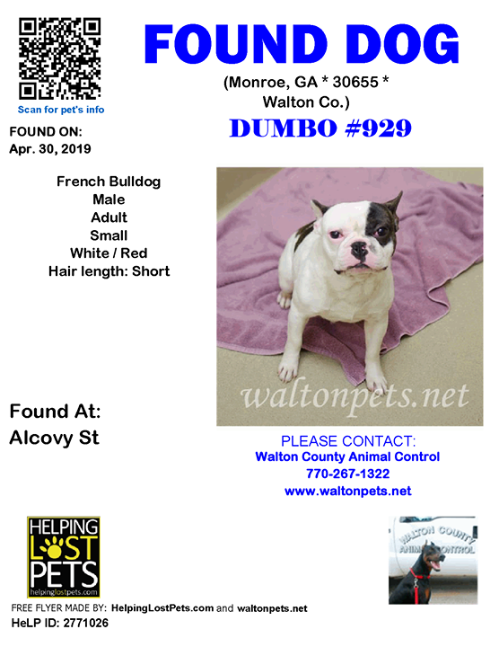 Note Walton County Animal Control Received A Listing From Helping