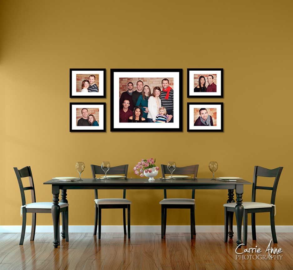 Ideas To Decorate Walls With Photos | http://umadepa.com | Pinterest ...