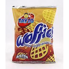 Tayto Waffles Bacon Flavoured Potato Crisps From Ireland S