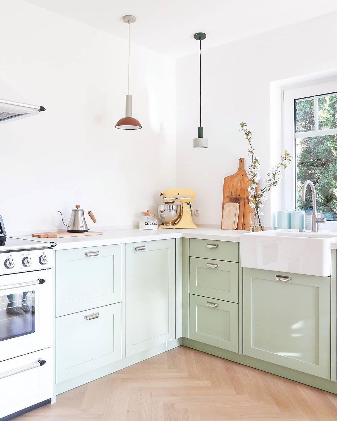 Christin On Instagram Moin Mensch Hat Das Wieder Ein Spass Mit Euch Gemacht Gestern Vielen Dank Fur Eure Zahlreichen San In 2020 Home Decor Kitchen Cabinets Kitchen