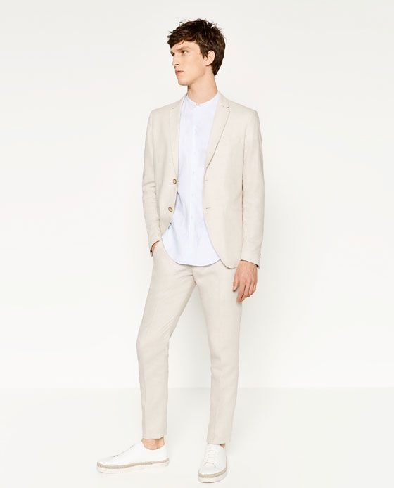 5a1181ee56 Summer Suits for Men | ZARA United States | male couture | Zara man ...