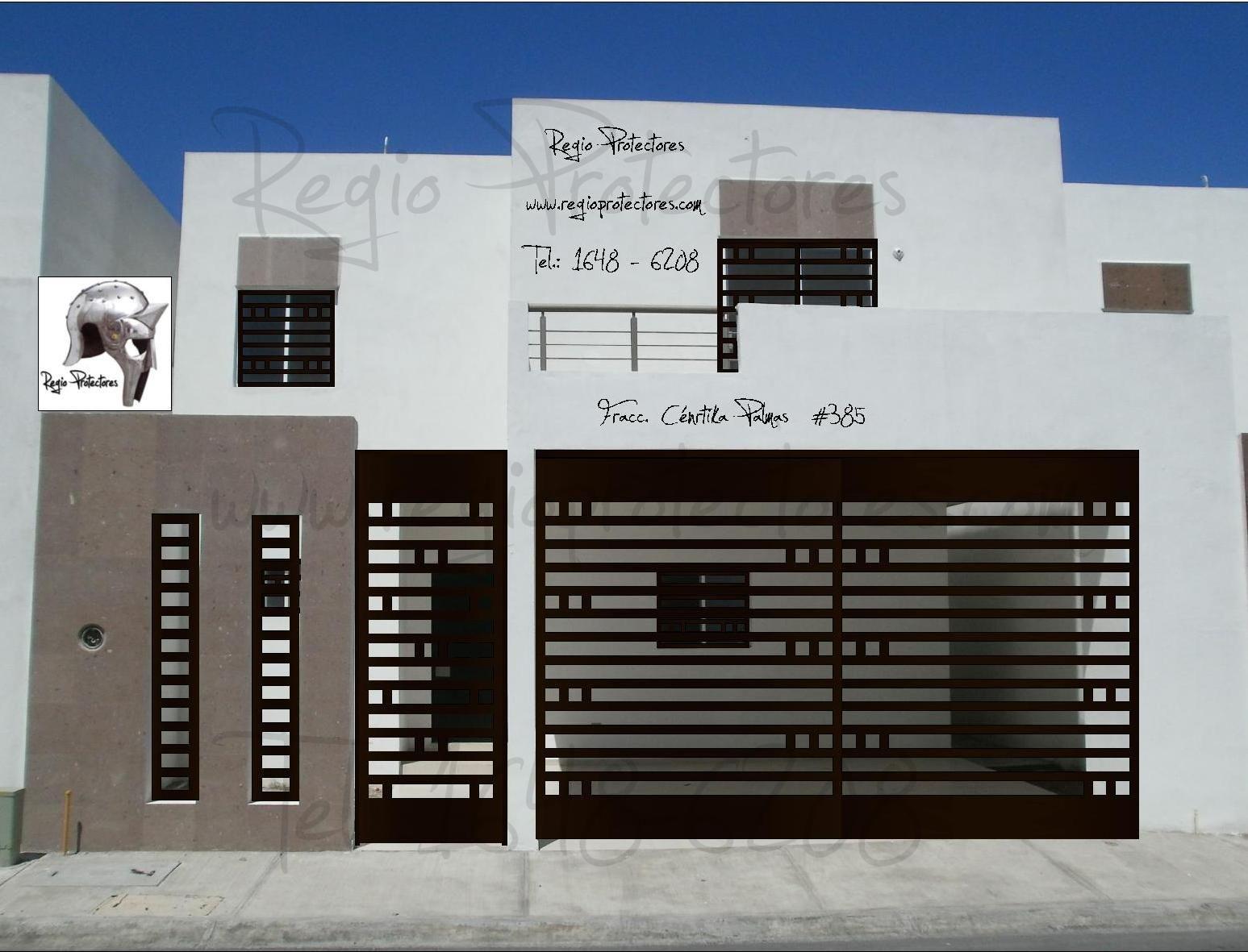 Resultado de imagen para rejas para casas madera fierro - Casas de cemento y madera ...