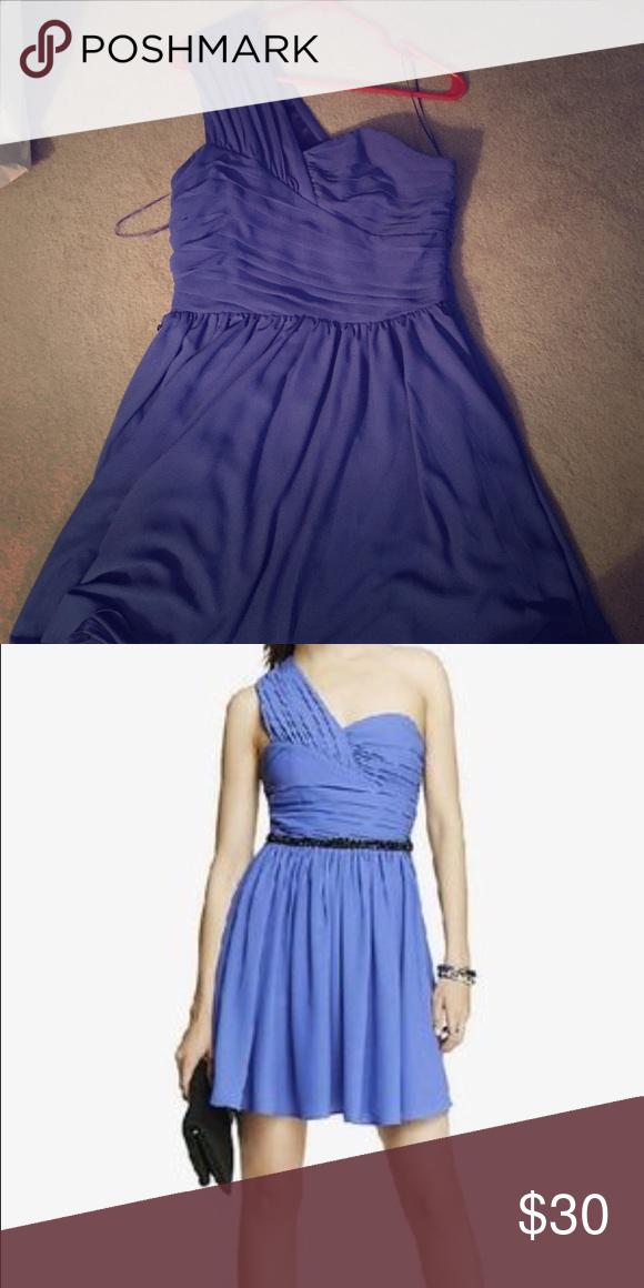 EXPRESS one shoulder dress. Excellent condition
