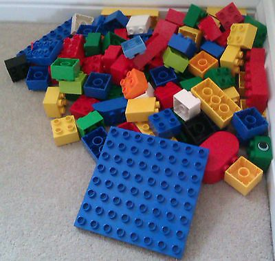 Duplo lego 100 #bricks blocks #including a base plate, View more - view sample resume
