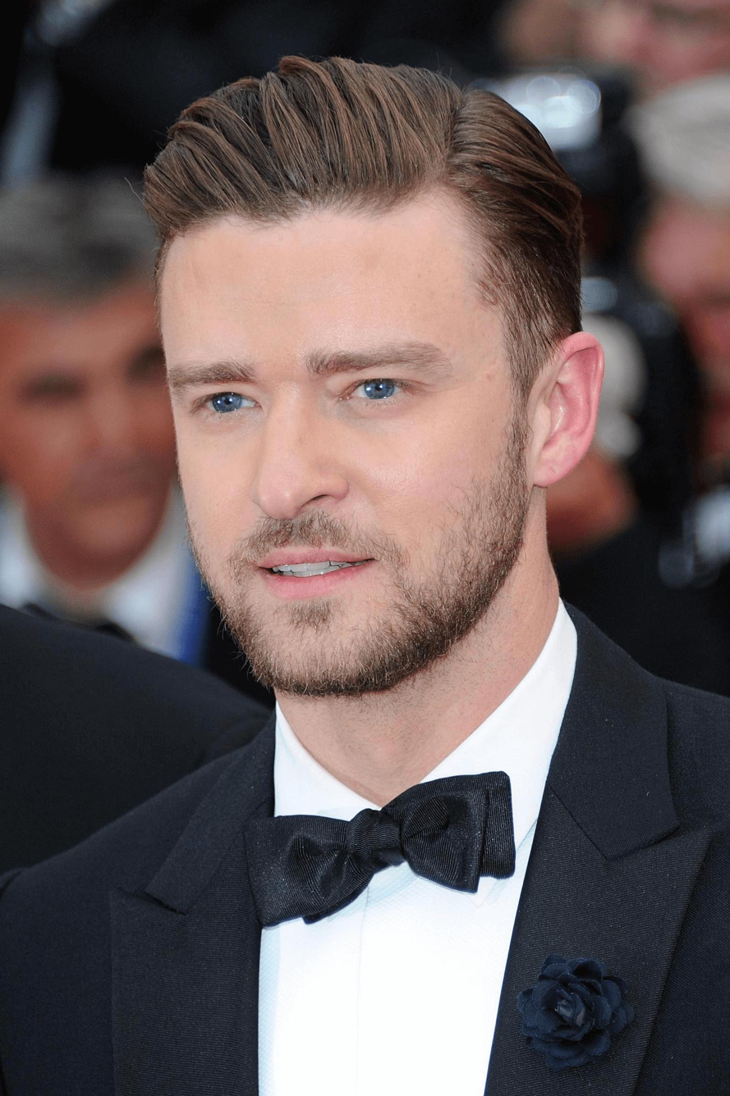 Männerfrisuren Sidecut Justin Timberlake Haare Stylen 2018