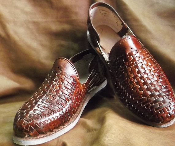 Mexican Huaraches - Leather Shoes - Totally Handmade - For Him