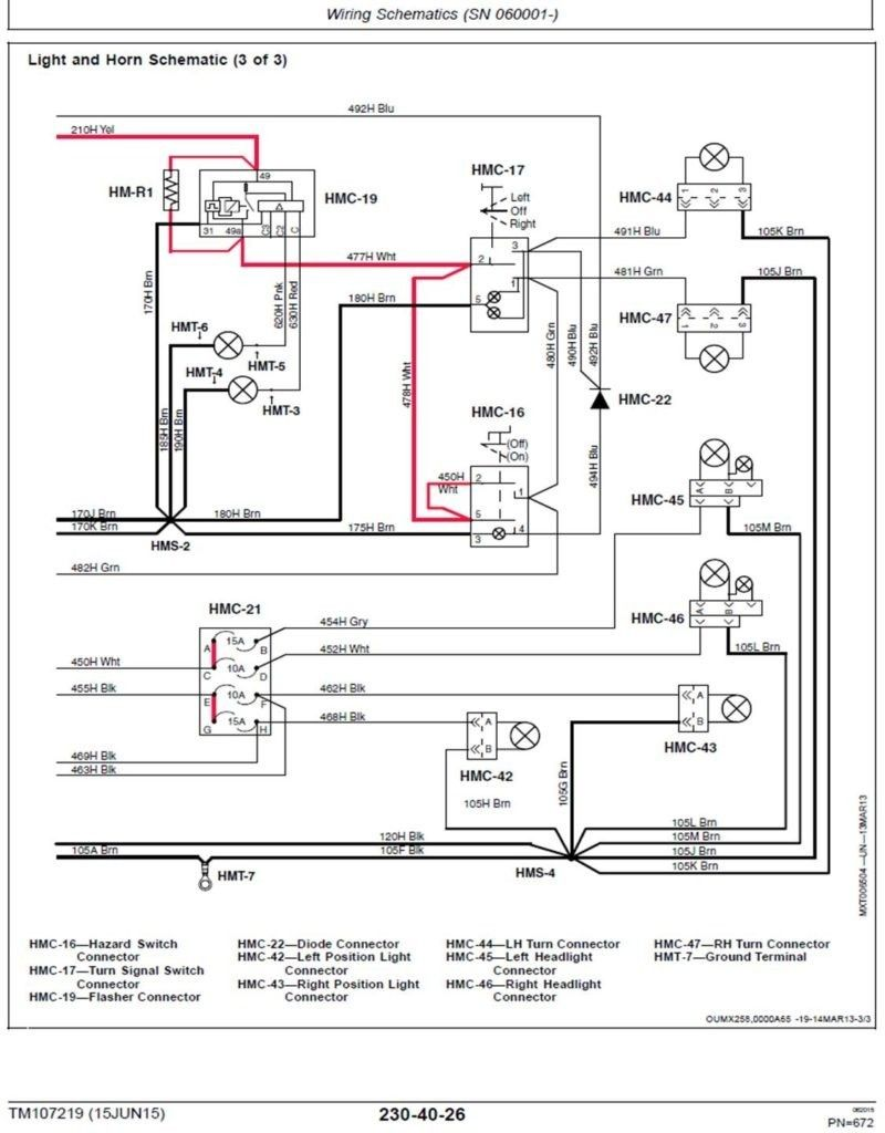 Jd Gator 4x2 Wiring Diagram In 2020 Wire Diagram Gator