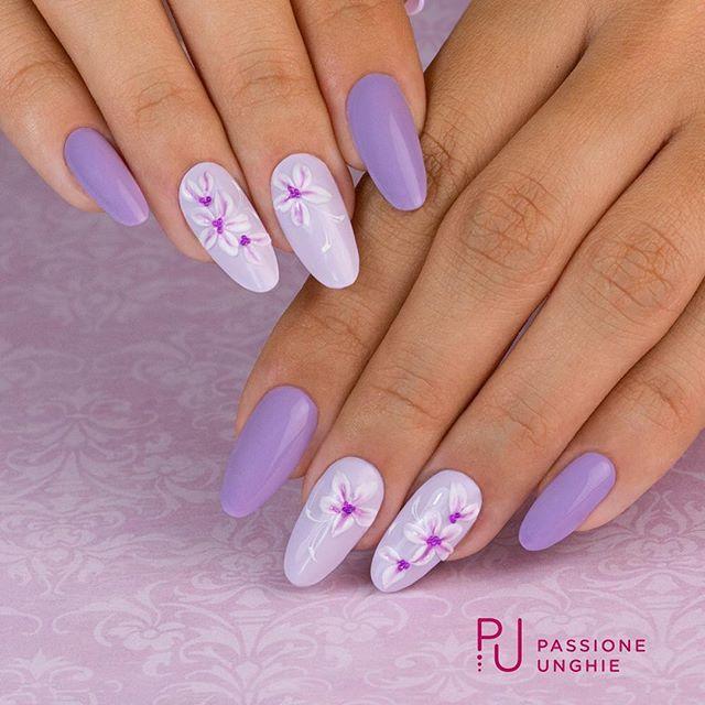 29 Idee Su Nail Art Fiori Flowers Nail Art Unghie Nail Art Nail Art Con Gel