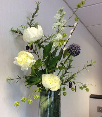 Image Result For How To Make Artificial Flower Arrangements For Large Vases Flower Arrangements Artificial Flower Arrangements Artificial Flowers
