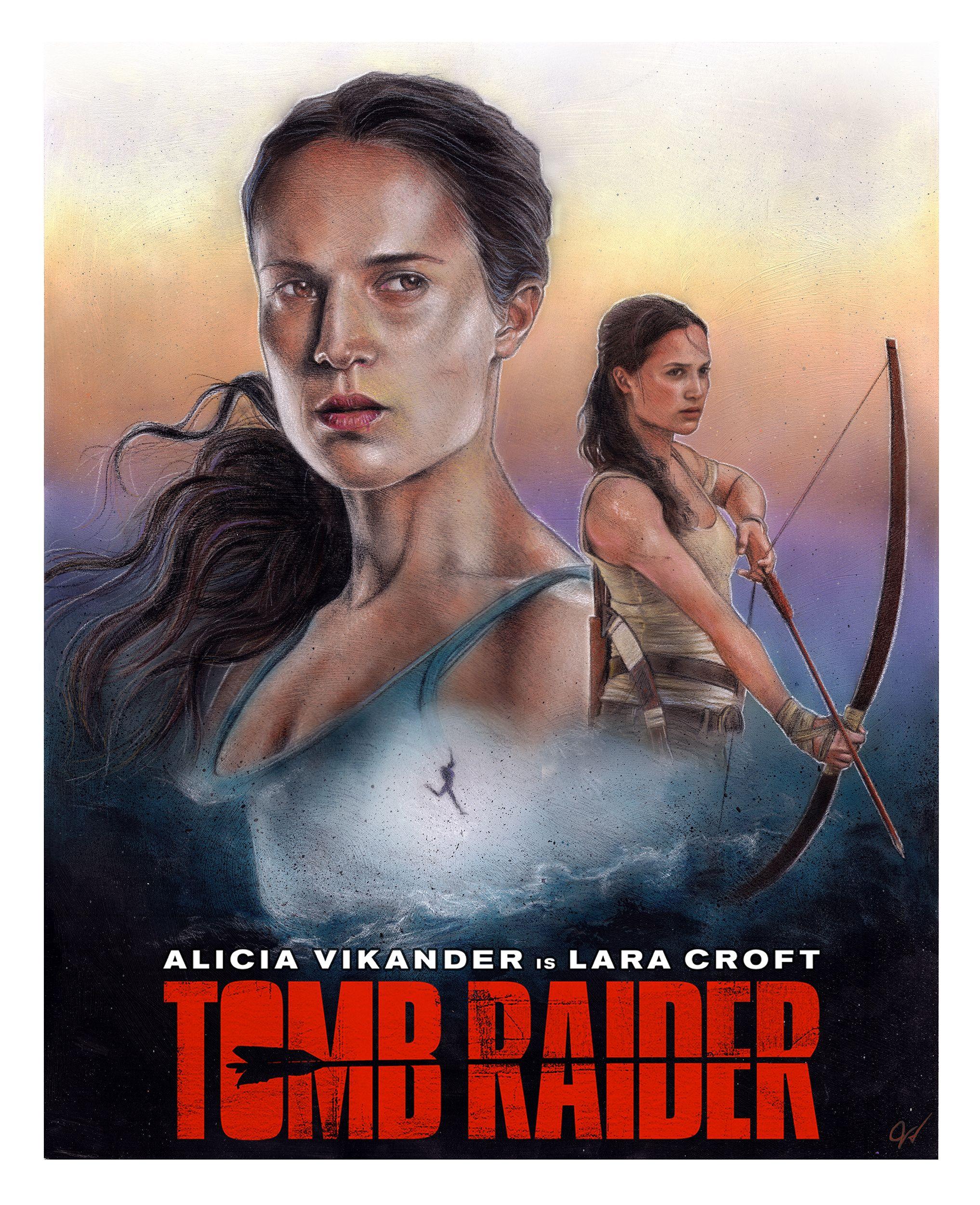 Alicia Vikander Tomb Raider 2018 Movie Full Hd Wallpaper: Tomb Raider (2018) [2034x2500] [OC]