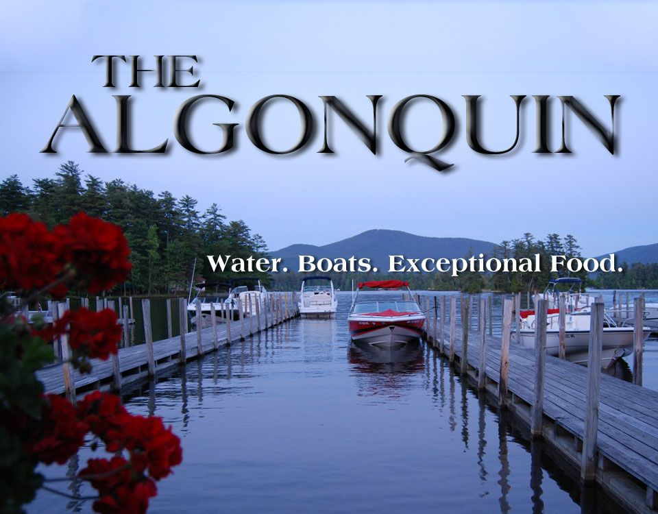 The Algonquin Restaurant Lake George Ny You Have To Boat In To