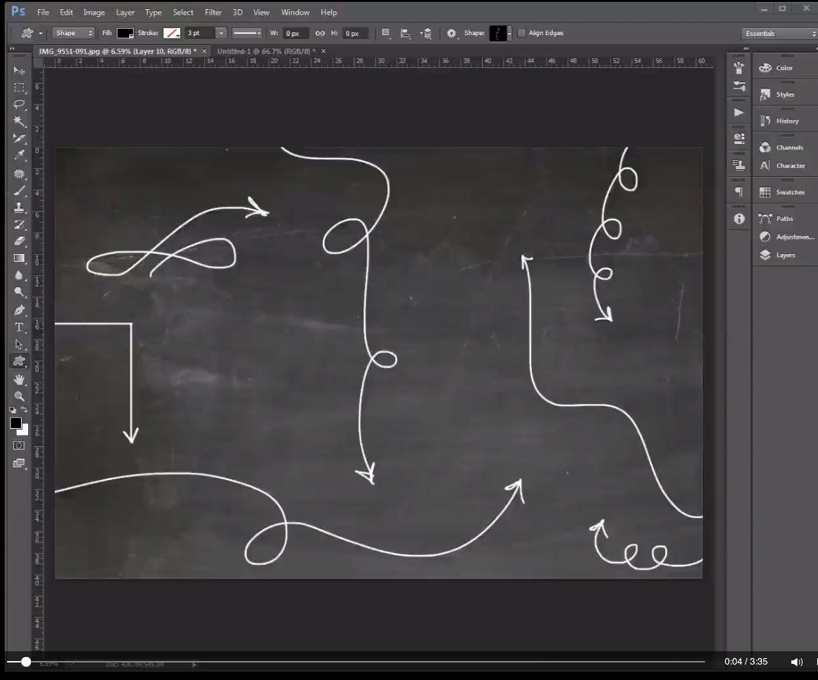 Learn how to create custom vector shapes in