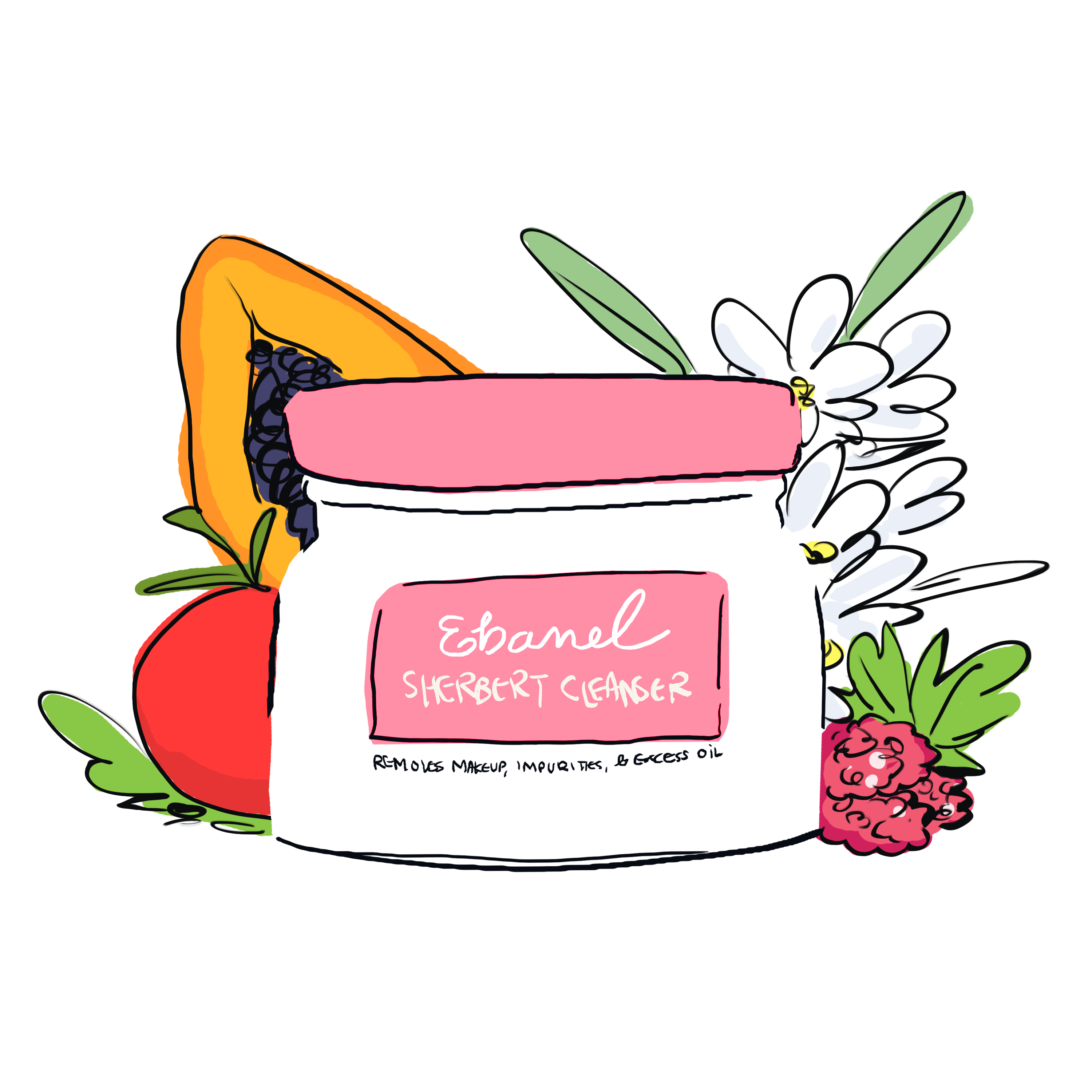 Sherbet Cleansing Balm Makeup Remover Makeup remover