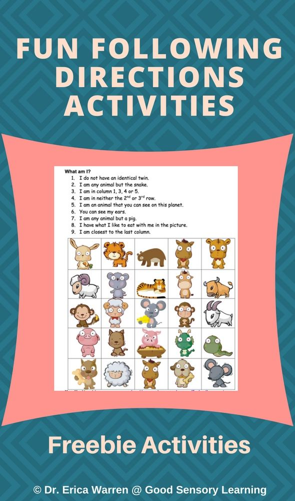 Gingerbread House Decorating - Following Directions Activity