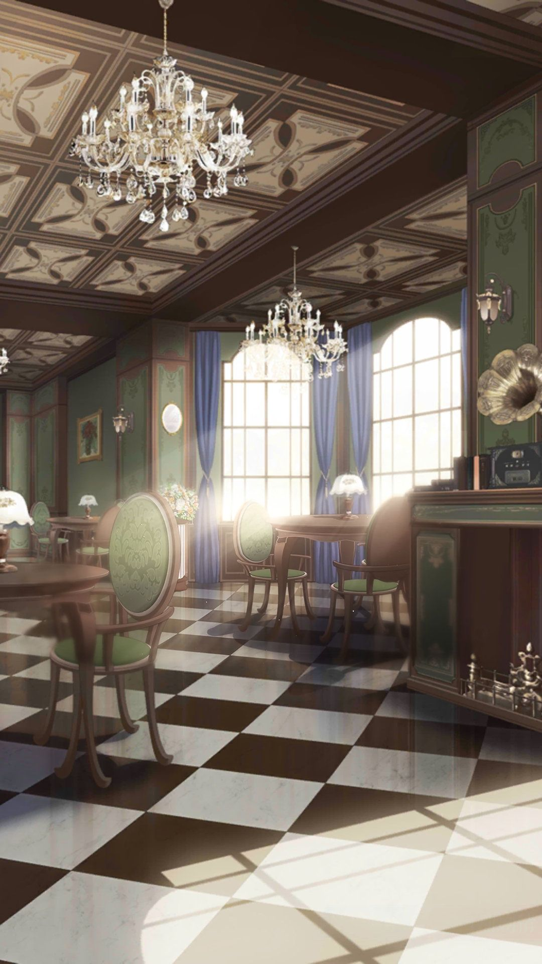 Anime Dining Room : anime, dining, Kanada, 恋与制作人, (Love, Producer), Anime, Scenery,, Places,, Scenery, Wallpaper