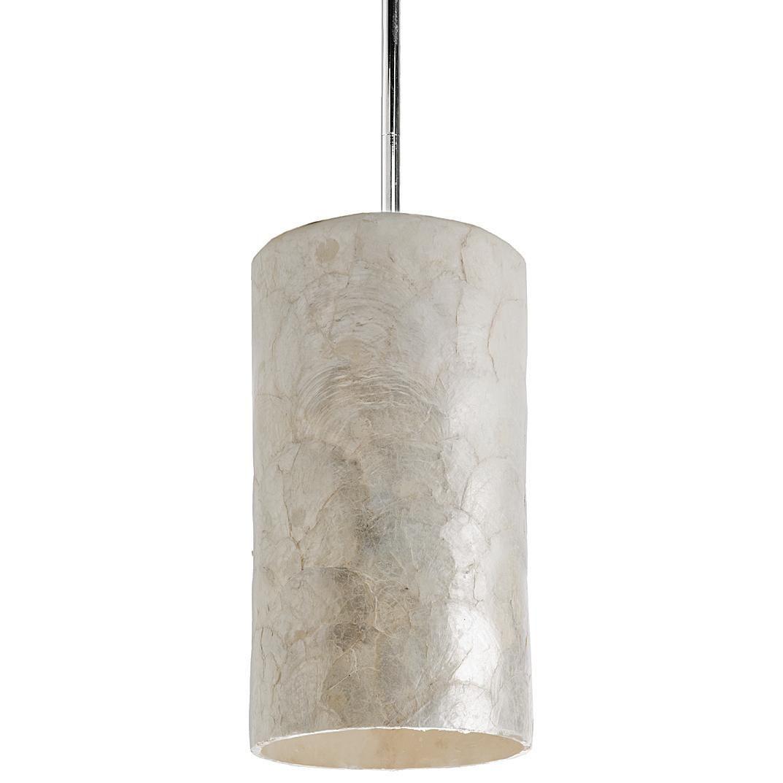 Capiz pendant by regina andrew master foyer light pinterest