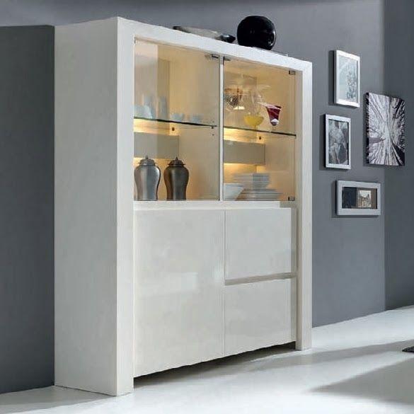 Vitrina nova de expormim para sal n comedor con puertas - Cristal puerta salon ...
