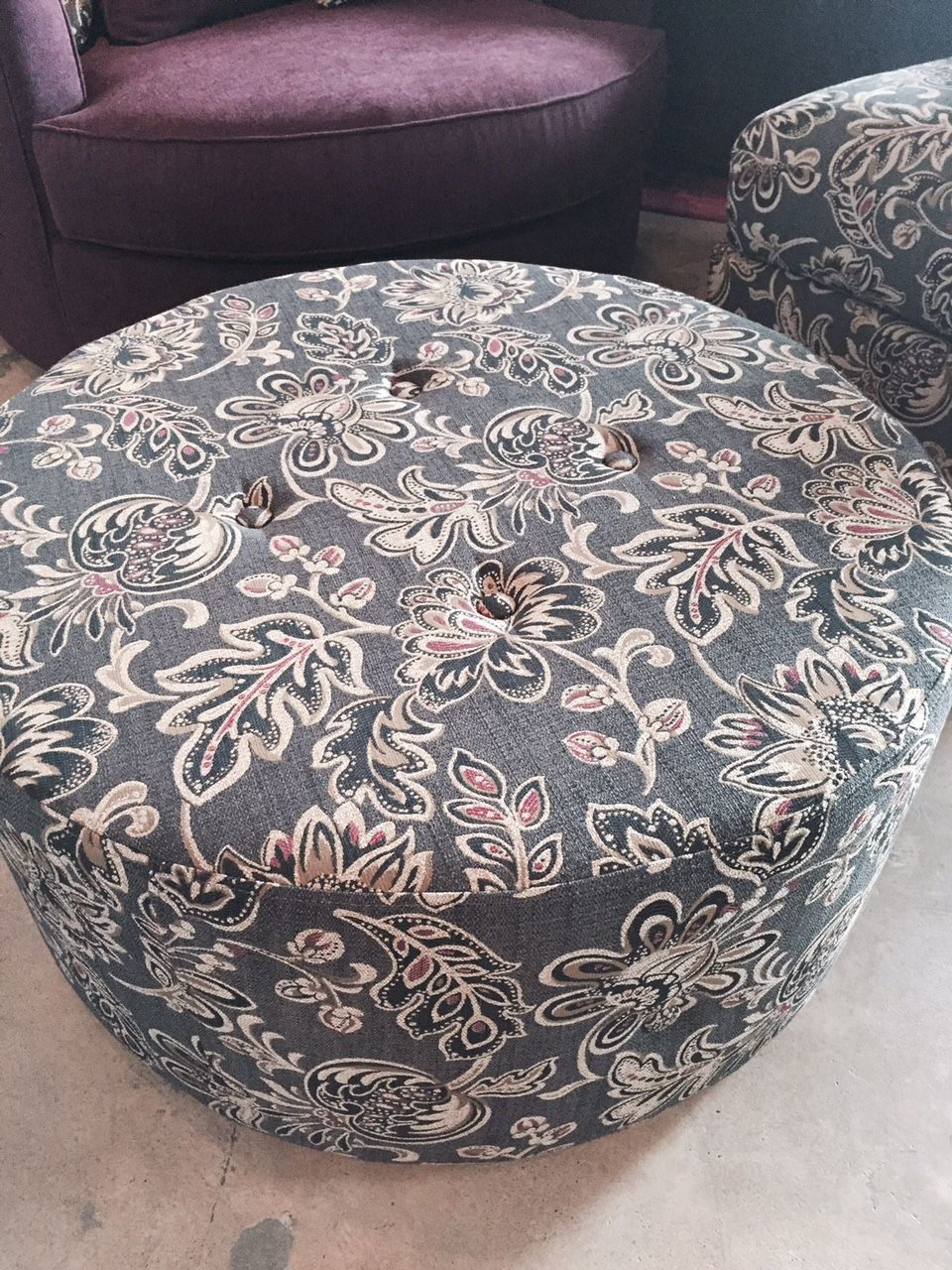 Canadian Made Custom Ottomans The Gloria Can Be Used For A Coffee Table Ottoman Or Extra Seating Many Fabric Options Available Make It Like You Want