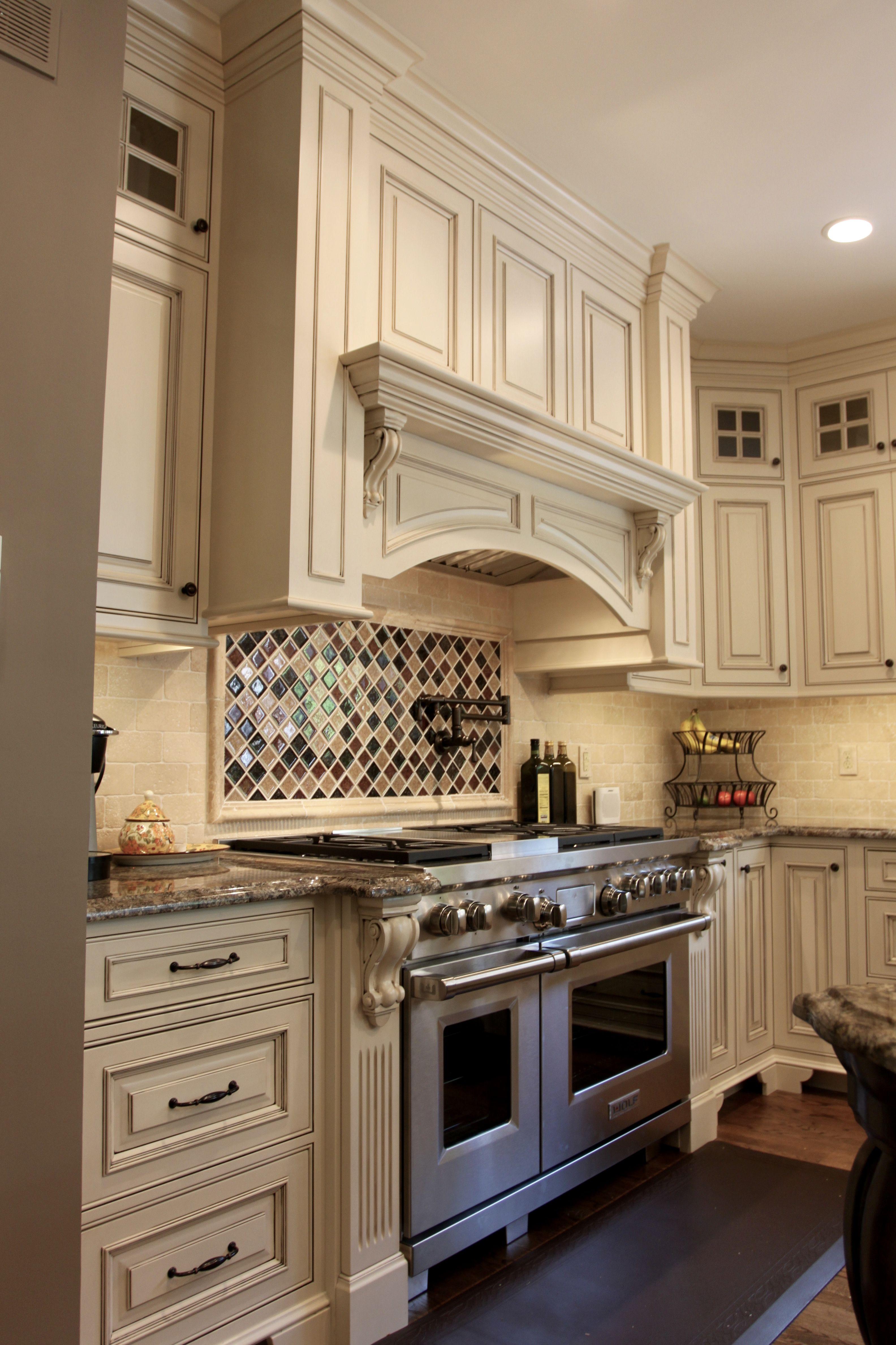 Custom Wood Hood Farmhouse Kitchen Cabinets Kitchen Range Hood Kitchen Remodel