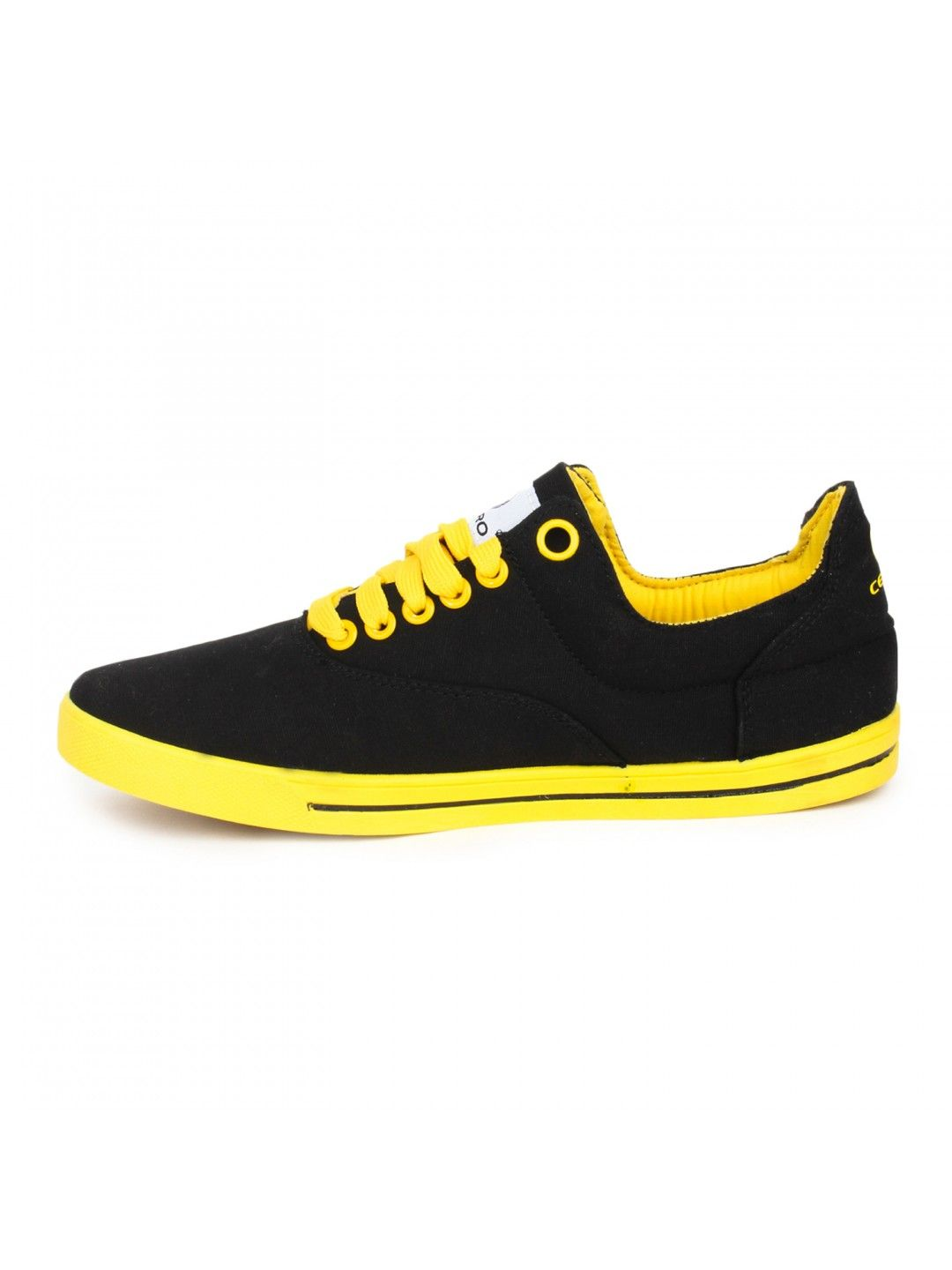 5f388782e55 Yellow Black Casual Shoes Fun for Men - Buy Online Yellow Black Casual Shoes  for Men at best price in india. Shoes are known for their fun