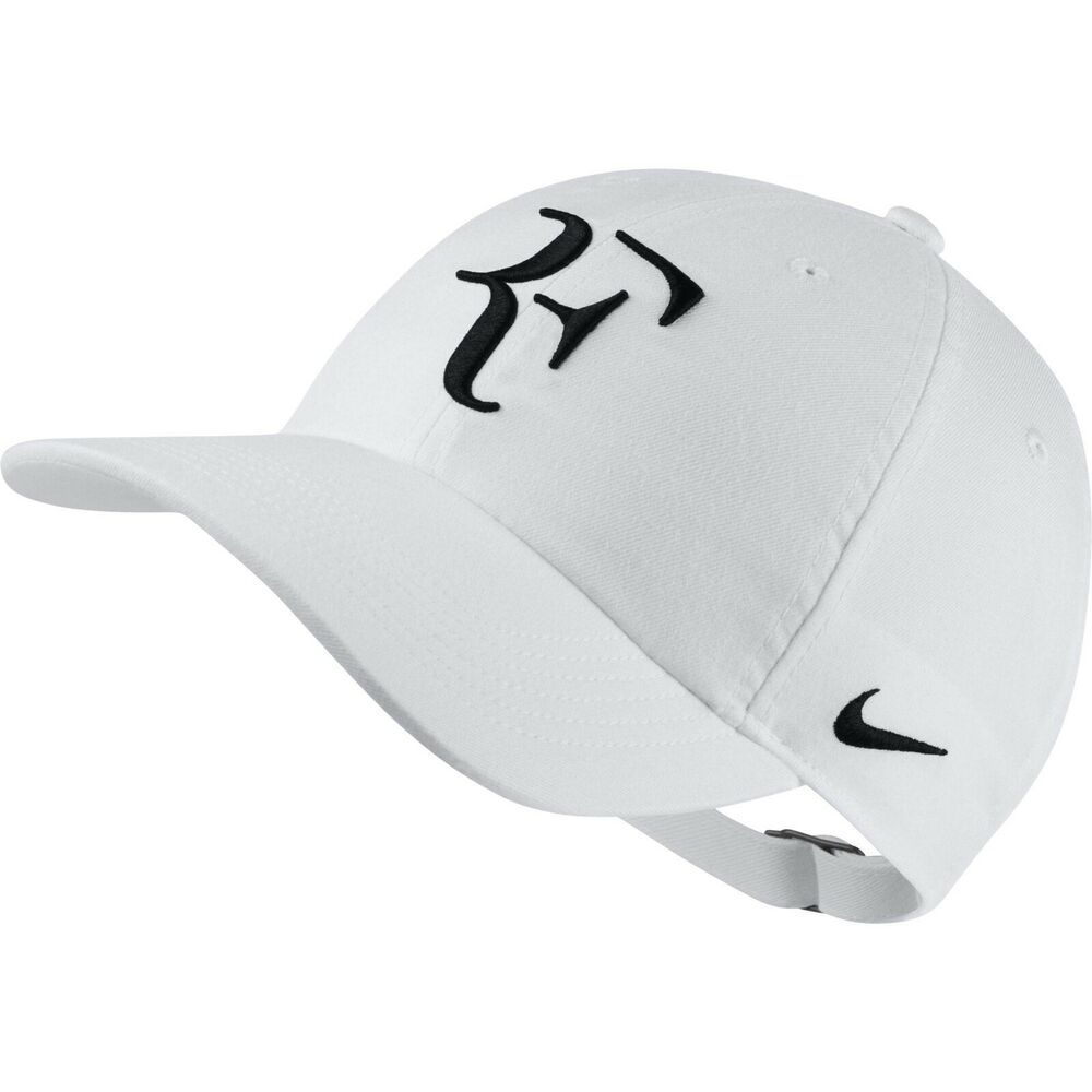 8d693219873 Nike NikeCourt RF Roger Federer Cap - AeroBill H86 Adjustable Hat - White -  New  fashion  clothing  shoes  accessories  mensaccessories  hats (ebay  link)