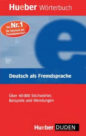 Hueber Duden Worterbuch Deutsch Als Fremdsprache Language Learning Deutsch Als Fremdsprache Worterbuch Deutsch Fremdsprache