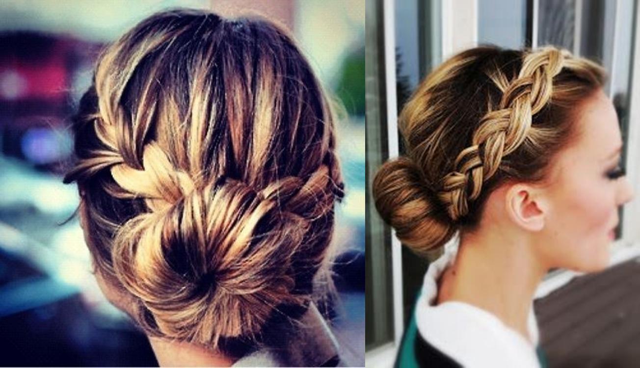 peinados para hacer deporte con trenzas buscar con google - Peinados Sencillos Y Faciles