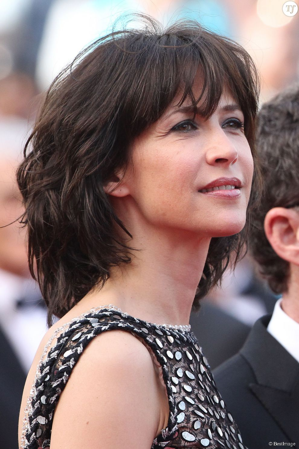 sophie marceau au festival de cannes 2015 j 39 adore ses cheveux pinterest festival de. Black Bedroom Furniture Sets. Home Design Ideas