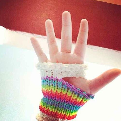 Loom Band Glove 32 Amazing But Weird Loom Band Creations Crazy