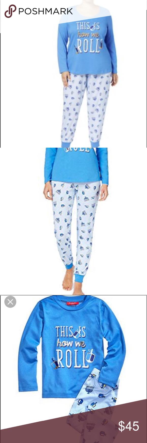 Women's Family Pjs size xxl Hanukkah Pajamas NWT NWT