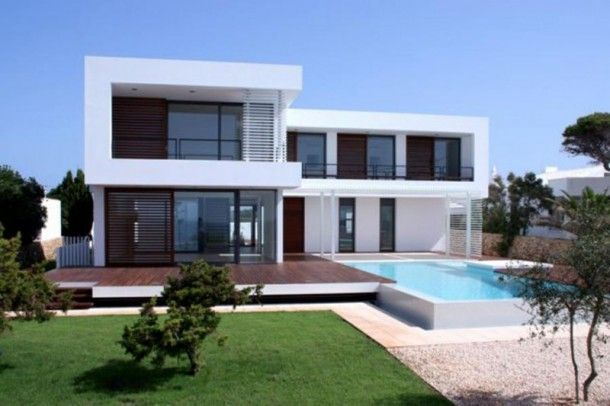 contemporary house plans with photos Modern Mediterranean house