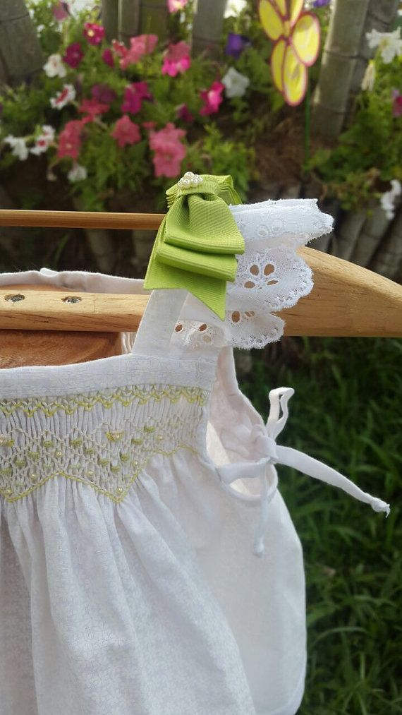 Baby and toddler summer dress vintage style by amelieboutiquekids