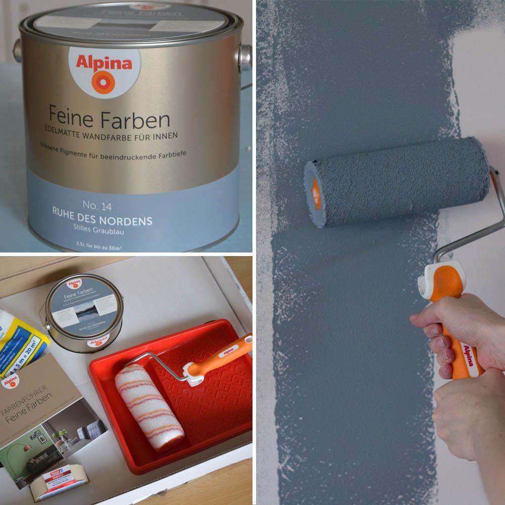 Graue Wände Wohnzimmer: Wohnzimmer Makeover Mit Wandfarbe