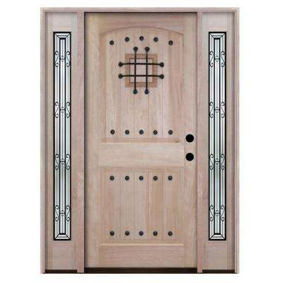 2 Panel Wood Doors Front Doors Exterior Doors The Home Depot