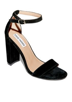 e37a5fdd1736 Suede black sandals that will pair with any dress or boyfriend jeans.