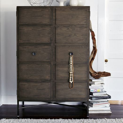 Your New High Fashion Wardrobe Our Paneled Armoire Is Equipped To