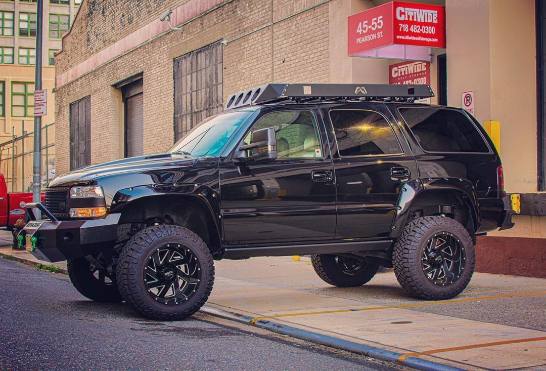 Jon Caveman On Instagram Chevytahoe Shining Like A Mirror In Longislandcity Queens Nyc Hdr Liftedtrucks Chevy Tahoe Lifted Chevy Tahoe Chevy