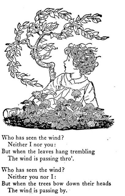"Who has seen the wind ""Sing-Song"" by Christina G. Rossett"