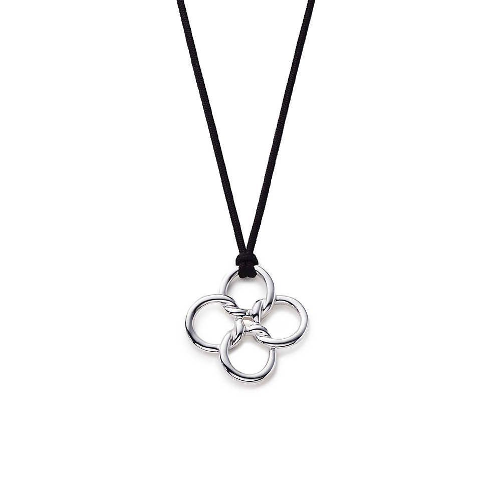 Elsa peretti quadrifoglio pendant elsa peretti elsa and leaf elsa peretti quadrifoglio pendant mozeypictures Gallery