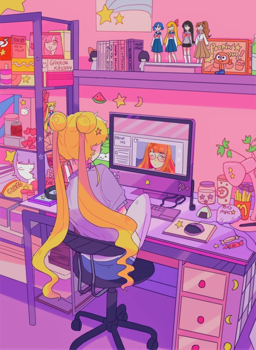 Sailor Moon Desktop Wallpaper Images Looking For The Best Sailor Moon Desktop Wallpaper We Have A Sailor Moon Art Sailor Moon Wallpaper Sailor Moon Aesthetic
