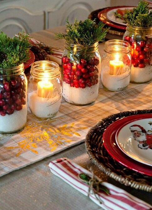 Para a mesa de Natal, by Instagram.