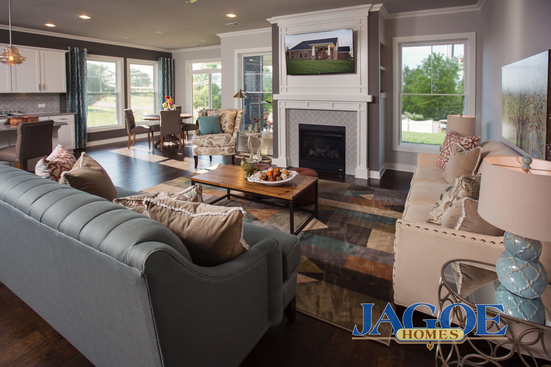 Little Rock Craftsman C2 Floor Plan - Living Room - Centerra Ridge - Evansville, IN