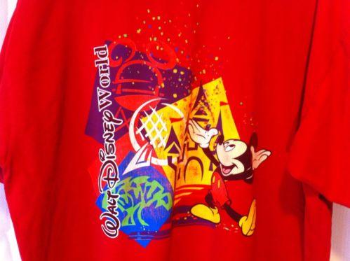 Mickey,Inc.Since 1928 Walt Disney World Men's T-Shirt Red
