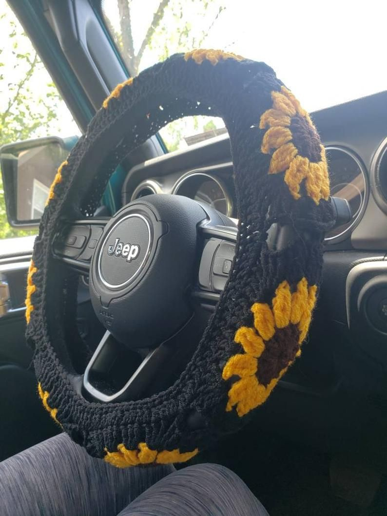 Park Art My WordPress Blog_Sunflower Seat Covers And Steering Wheel Cover