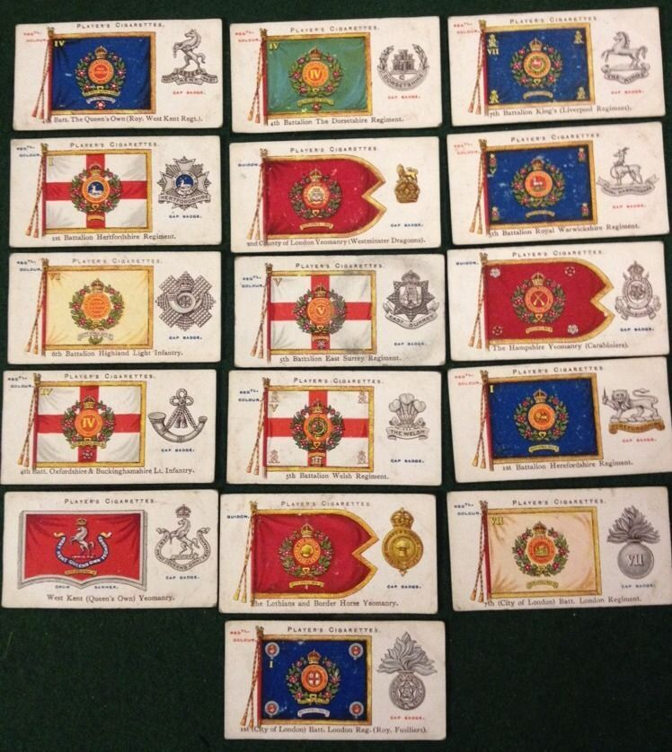 Pin on Cigarette, Tea & Other Collectors Cards