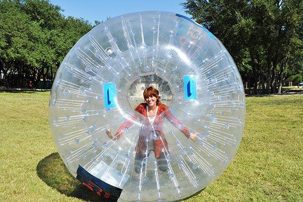 Human Hamster Ball Rentals TOO cool! Games2u Victoria