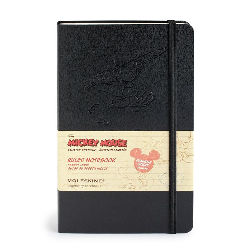 Moleskine Mickey Mouse Limited Edition Large Ruled Notebook (5 x 8.25)