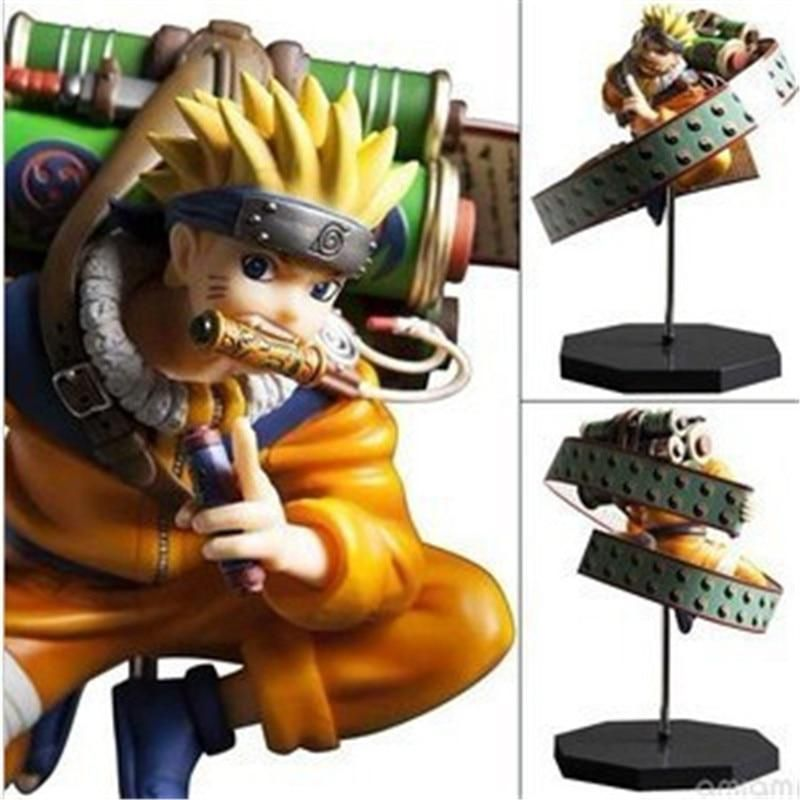 Anime Naruto Shippuden Uzumaki Naruto Reel PVC Action Figure Figurine Toy Gift