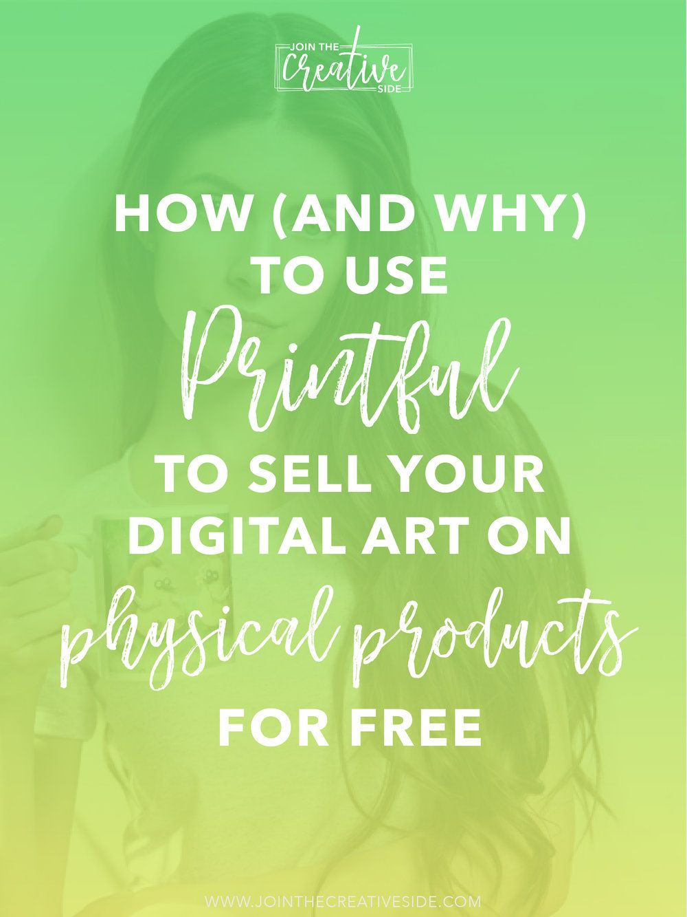 How (And Why) to use Printful to sell your digital art on